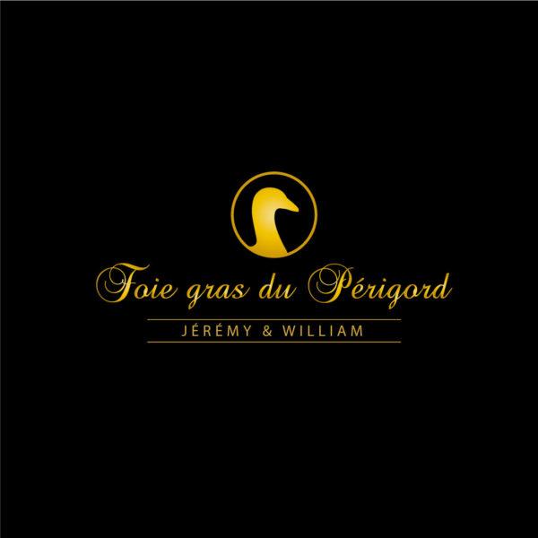 Foie Gras du Périgord – Producteur de foie gras Création logo et identité visuelle. Création d'un packaging, décliné sur la gamme