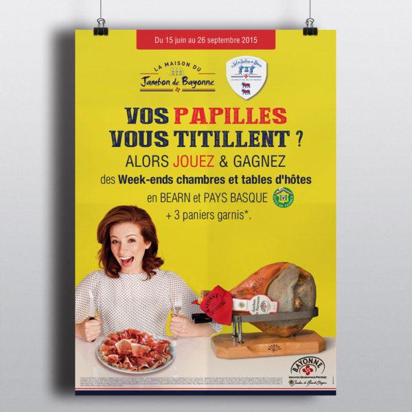 Création affiche opération marketing