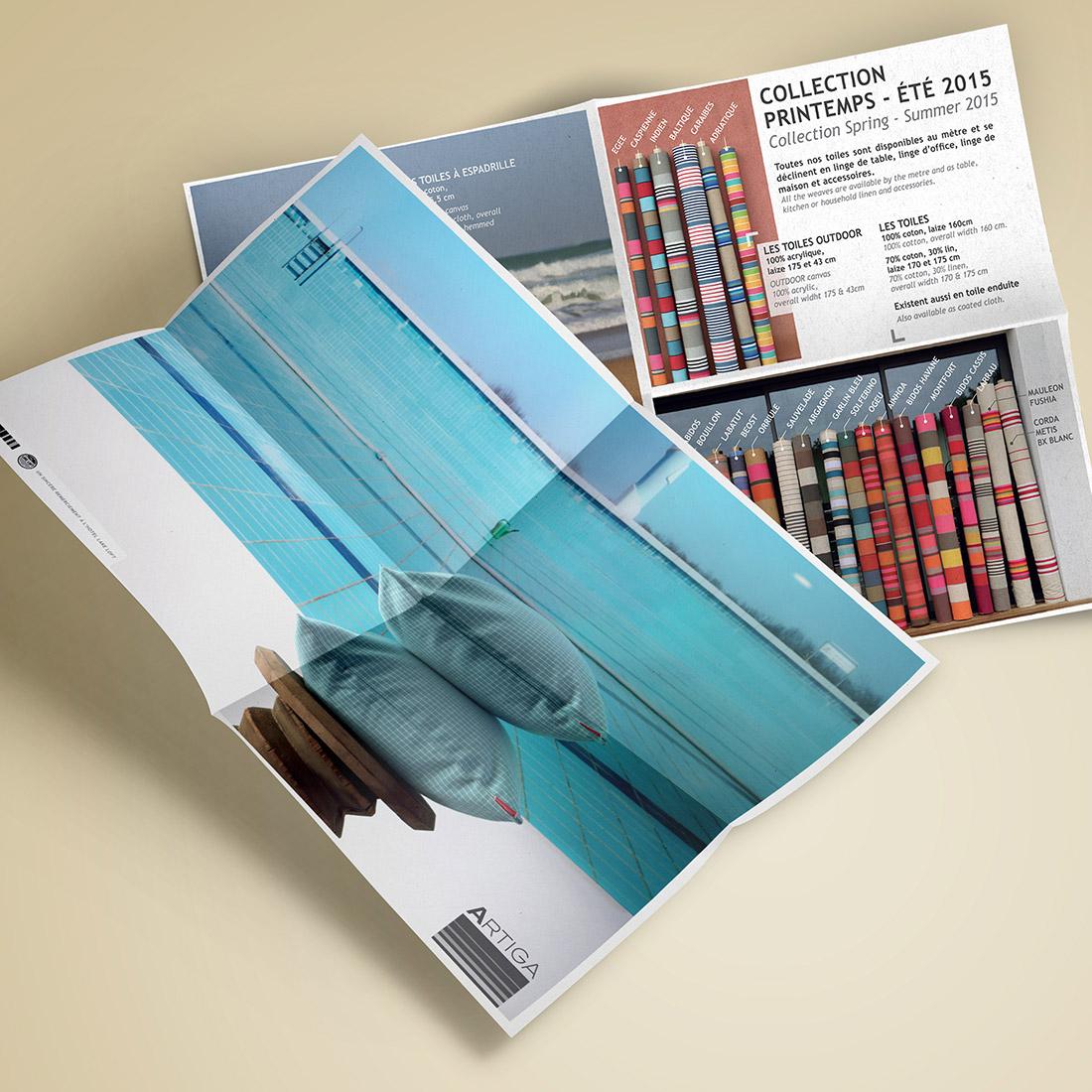 Création site e-commerce Artiga - print