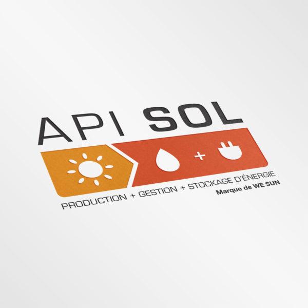 Création identité visuelle logo API SOL