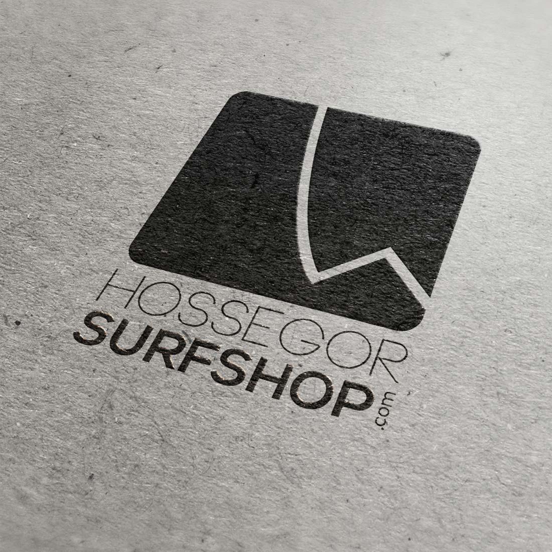 Création identité visuelle logo Hossegor Surfshop