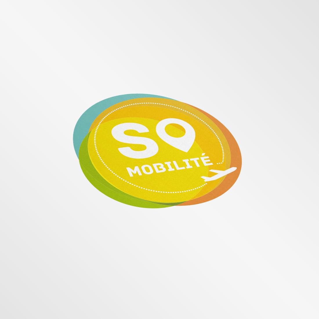 So Mobilité : Création du logo. Développement du site. Développement de la plateforme d'entretien.