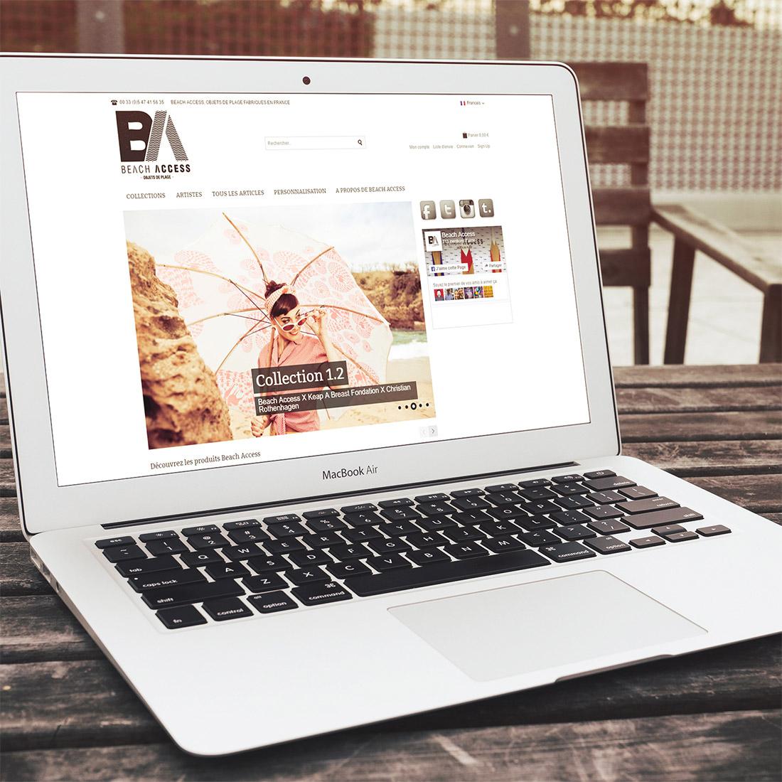 Création site e-commerce Magento