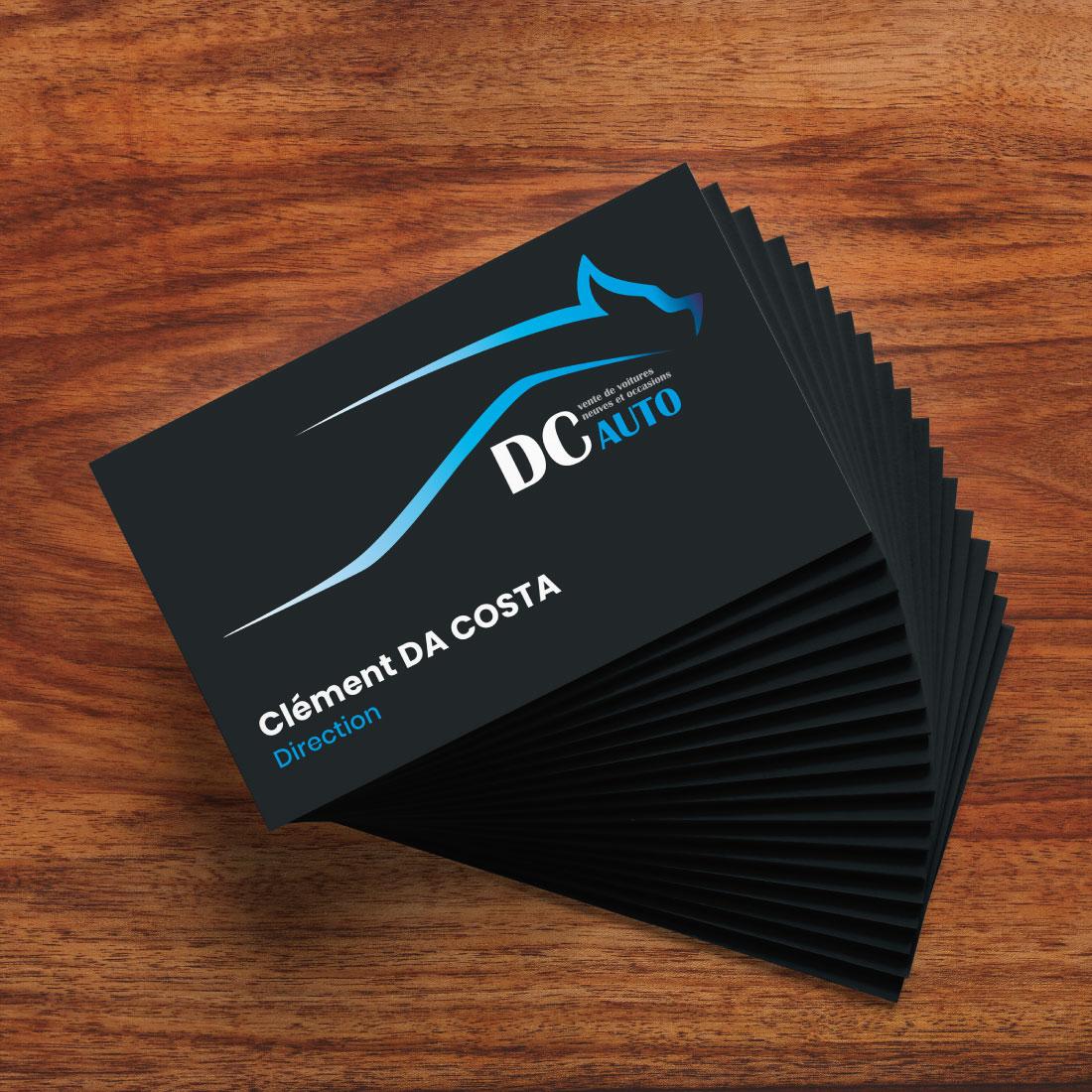 carte de visite DC auto