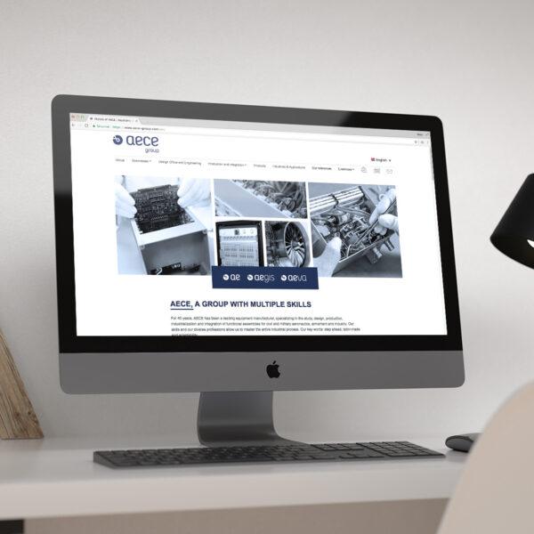 aece group - site internet